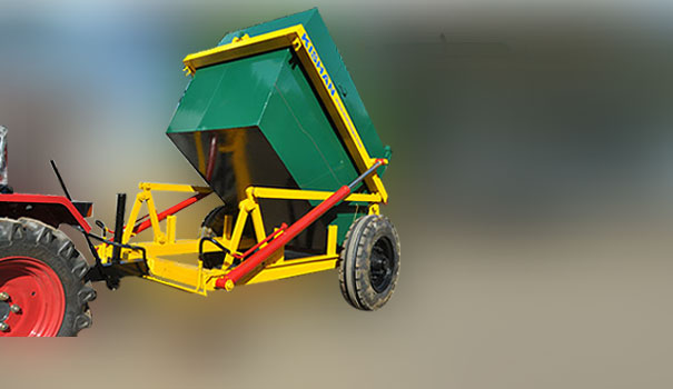 Garbage Container Carrier Garbage Container Loader From